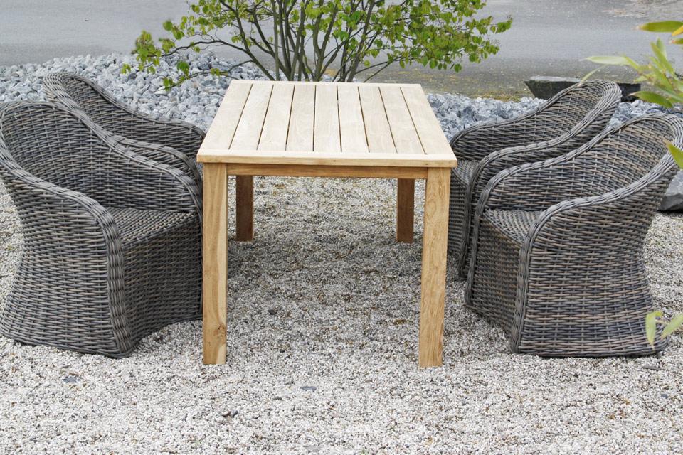 Gartenmöbel set polyrattan  Traumhaftes Gartenmöbel-Set mit großen Sesseln mit extra breiten ...